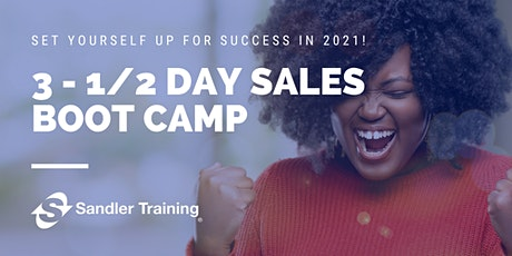 Virtual Sales Boot Camp - 3 half days: March 9, 10 & 11 tickets
