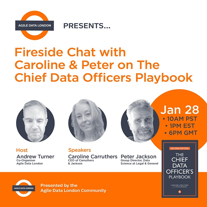 ADL  presents Fireside Chat with Caroline & Peter on The CDO Playbook image