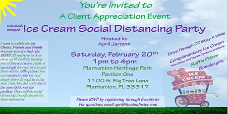 Ice Cream Social Distancing Party tickets