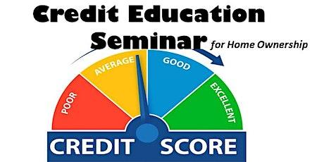 Credit Education Seminar tickets