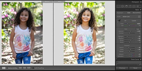 Intro to Photo Editing w/ Lightroom tickets