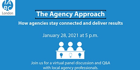 The Agency Approach: How agencies stay connected and deliver results tickets