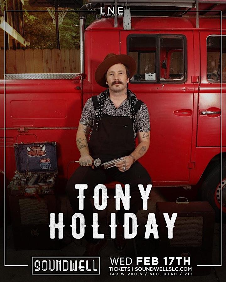 Tony Holiday - Soul Service Tour image