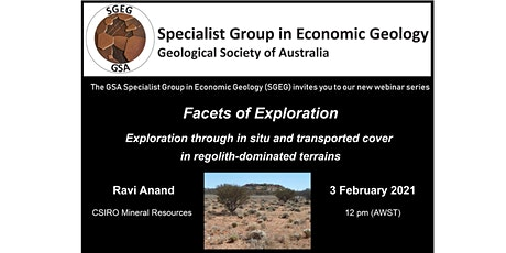 GSA Specialist Group in Economic Geology Facets of Exploration Feb Webinar tickets