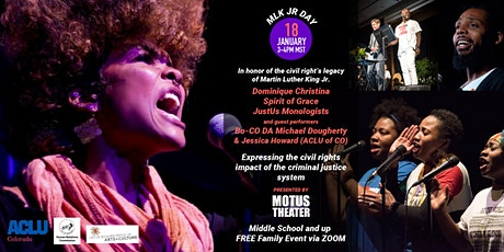 MLK Jr. Day Performance feat. Dominique Christina & Other Special Guests tickets