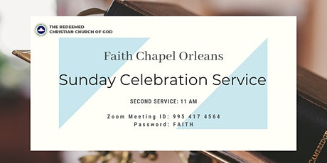 RCCG Faith Chapel Orleans Sunday Service (2nd Service) tickets