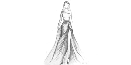 60min Fashion Sketching  Art Lesson -  Intro to Basics  @5PM (Ages 7+) tickets