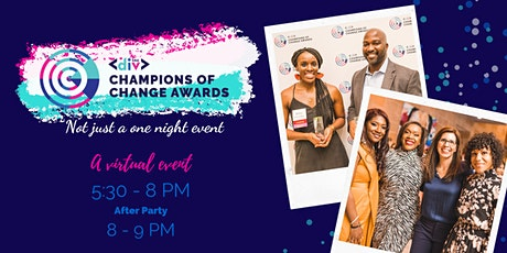 2021 Champions of Change Awards tickets