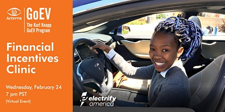 EV Financial Incentives Clinic tickets