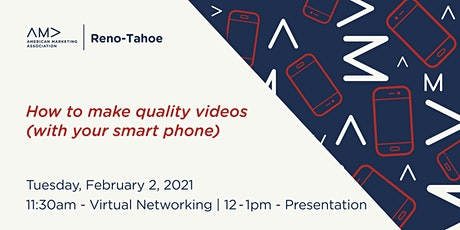 How to make quality videos (with your smart phone) tickets