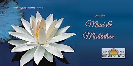 Mind & Meditation-Introduction to SKY Breath Meditation Workshop . tickets