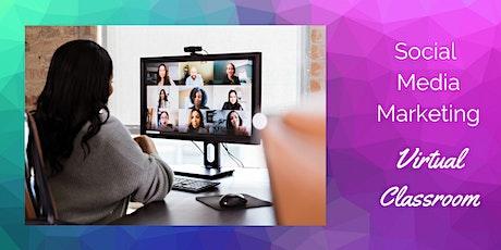 Social Media Marketing - Virtual Classroom tickets