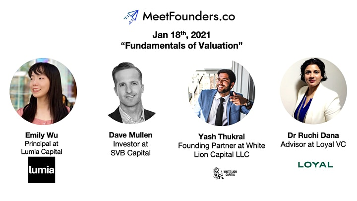 MeetFounders [North America - Jan 2021] VC Investment Panels + Pitches image