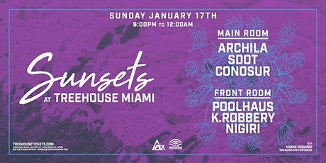 Sunsets @ Treehouse Miami tickets
