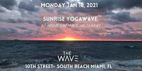 Miami Sunrise Beach YogaWave tickets
