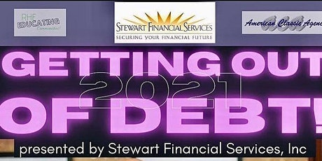 Getting Out of Debt LIVE webinar tickets