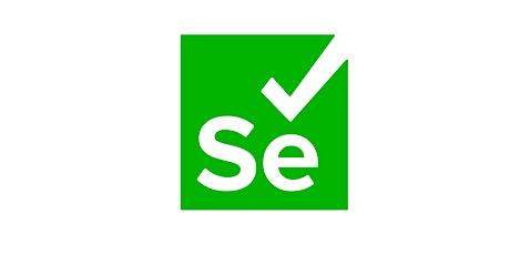 4 Weeks Selenium Automation Testing Training Course Novi tickets