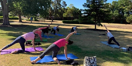 Yoga in the Park with Jade tickets