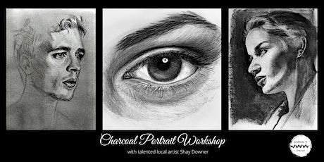 Charcoal Portrait Workshop tickets