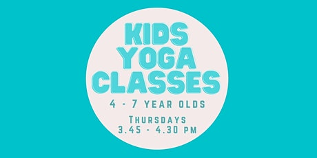 Kids Yoga Class 4 - 7 year olds tickets