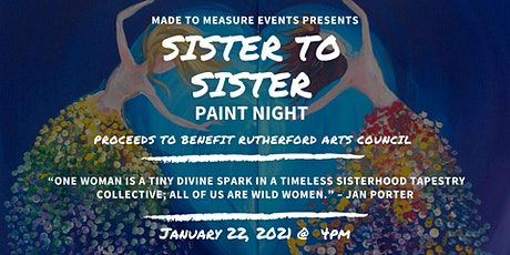 Sister to Sister - Rutherford Arts Council Fundraiser tickets