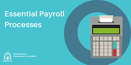 Essential Payroll Processes tickets