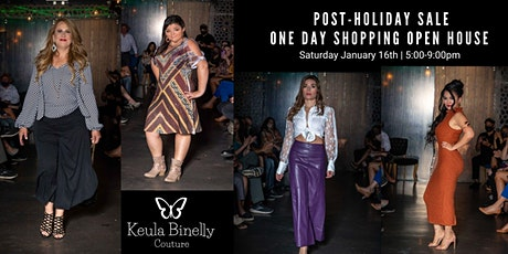 Keula Binelly Couture Post-Holiday Sale tickets