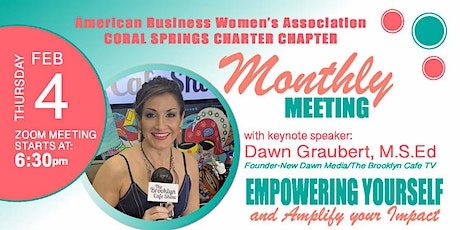 Coral Springs ABWA February, 2021 tickets