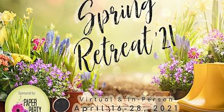 2021 Spring Scrapbook Retreat tickets