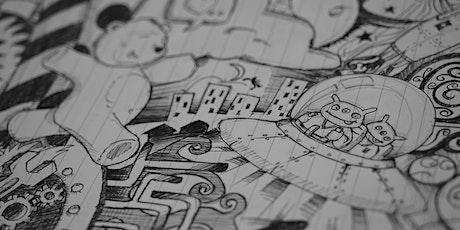 Club de dessin & de journal/ Doodling & Journaling Club ASD (16+) tickets