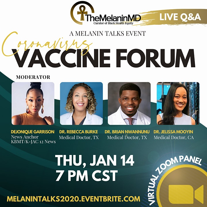 Melanin Talks: Vaccine Forum image
