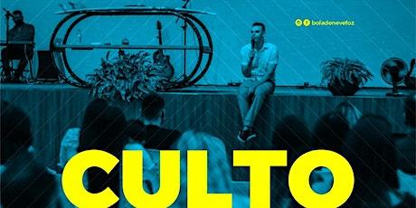 CULTO QUINTA-FEIRA 21 /01 NOITE 20H ingressos