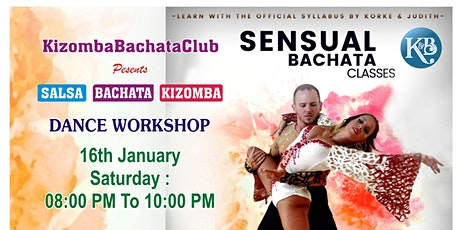 SALSA BACHATA KIZOMBA Dance WORKSHOP at PUNE tickets
