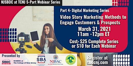 Part 4  - Digital Marketing Series:  Harness  Video Story Marketing tickets