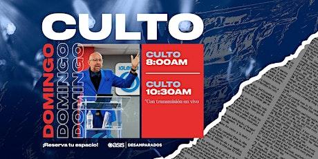 Culto Dominical |  17 de Enero entradas