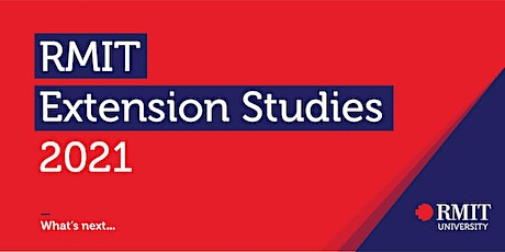 2021 RMIT Extension Studies Orientation tickets