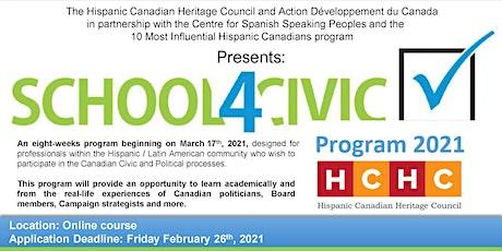 HCHC School4Civic Program 2021 tickets