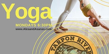 Yoga at Tarpon River Brewing tickets