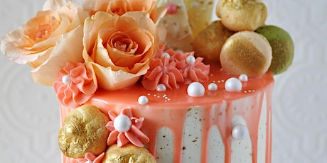 Cake Decorating Class: Sharp & Smooth Buttercream Cake Class tickets