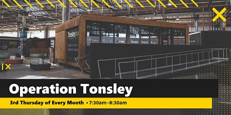 2021 Operation Tonsley Monthly Prayer Breakfast tickets