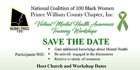 NCBW-PWCC, Inc. Virtual Mental Health Awareness Training Workshop tickets