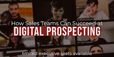 Digital Prospecting for Pandemics tickets