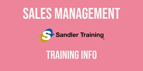 Training for Sales Managers tickets