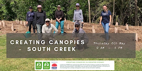 Creating Canopies at South Creek - Stage 2 tickets