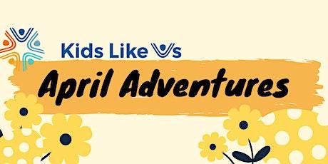 April Adventures 2021 tickets