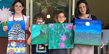 Adult & child creative art workshop tickets