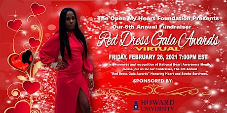 Virtual Red Dress Gala Awards tickets