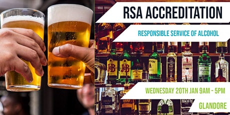 Glandore | RSA Accreditation  | Responsible Service of Alcohol tickets