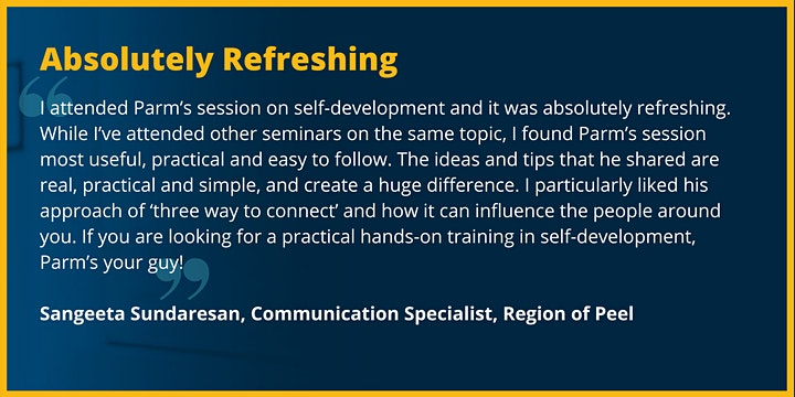 Complimentary Leadership Training  - Everyone Communicates, Few Connect image