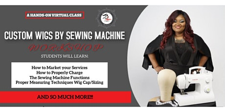 WIGS BY SEWING MACHINE tickets